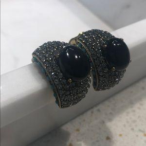 Heidi Daus Swarovski crystal statement earrings
